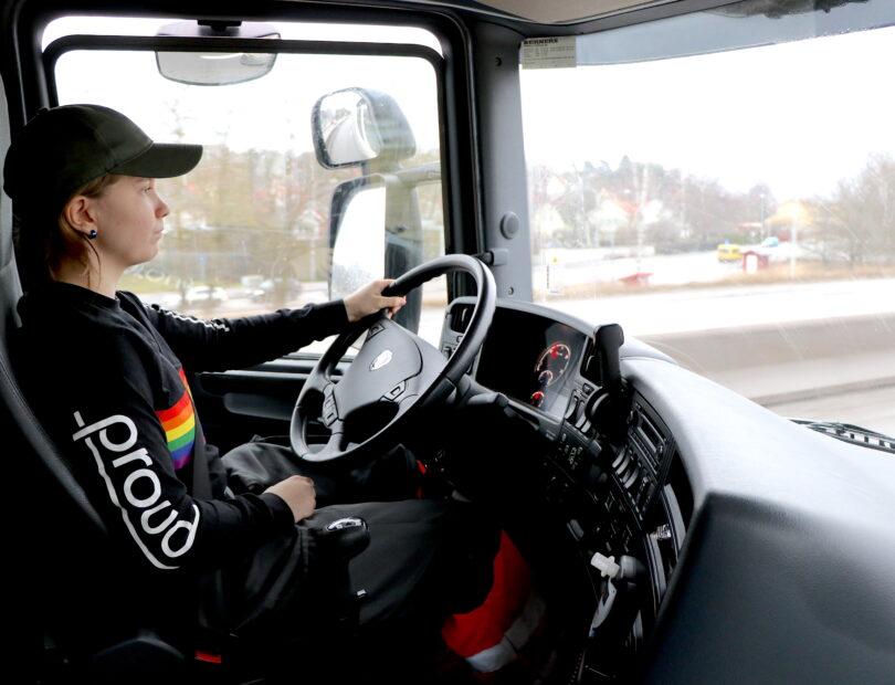 Bergstrands Gymnasium fordonsprogrammet transport