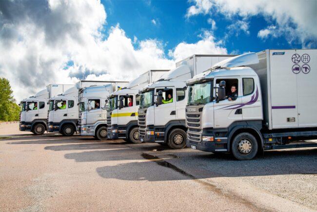 Transportutbildningar på Bergstrands