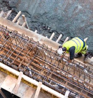Vuxenutbildning betongarbetare