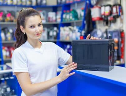 Butikssäljare inom fordonsbranschen