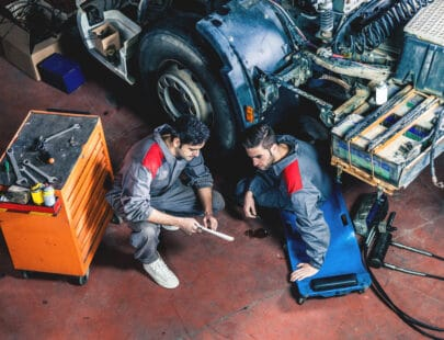 Vuxenutbildning lastbilsmekaniker
